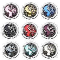 Art und Weisebeutel Aufhänger, Zinklegierung, mit Kristall, plattiert, hohl, keine, 45x14mm, 5PCs/Menge, verkauft von Menge