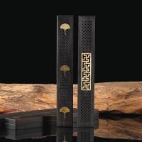 Schwarz Sandelholz Rechteck, Halbhandgefertigt, verschiedene Stile für Wahl, 240x40x22mm, verkauft von PC