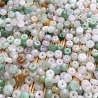 Jadeit Perlen, flache Runde, poliert, DIY, 5.40x2.90x5.40mm, 100PCs/Tasche, verkauft von Tasche