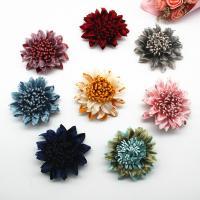 Stoff Schuhe Dekoration, Blume, handgemacht, DIY, keine, 60mm, 50PCs/Menge, verkauft von Menge