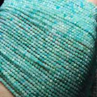 Amazonit Perlen, poliert, DIY & verschiedene Größen vorhanden & facettierte, grün, verkauft per ca. 15 ZollInch Strang
