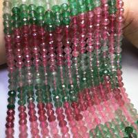 Strawberry Quartz Perle, poliert, DIY & facettierte, gemischte Farben, 5x7.50mm, ca. 76PCs/Strang, verkauft per ca. 15 ZollInch Strang