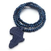 Hemu+Perlen Halskette, mit Nylonschnur, unisex, keine, 65x80x10mm, verkauft per ca. 35.4 ZollInch Strang