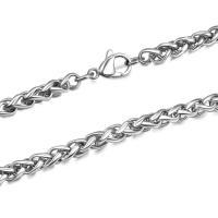 Titanstahl Kette Halskette, unisex & verschiedene Größen vorhanden, verkauft von PC