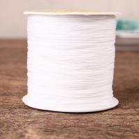 Nylon Polypropylen Nichtelastisches Garn, DIY, keine, frei von Nickel, Blei & Kadmium, 4mm, 350m/Spule, verkauft von Spule