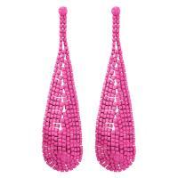 Seedbead Tropfen Ohrring, für Frau, keine, 25x95mm, verkauft von Paar