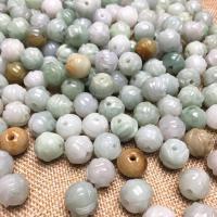 Jadeit Perlen, poliert, DIY & geschnitzed, 10mm, 100PCs/Tasche, verkauft von Tasche