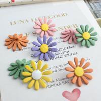 Haarschmuck DIY Ergebnisse, Zinklegierung, Blume, Einbrennlack, Koreanischen Stil, keine, frei von Nickel, Blei & Kadmium, 23x23mm, 20PCs/Tasche, verkauft von Tasche