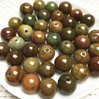 Jadeit Perlen, rund, poliert, DIY, keine, 100PCs/Tasche, verkauft von Tasche