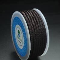 Nylon Nichtelastisches Garn, rund, DIY & verschiedene Größen vorhanden, keine, frei von Nickel, Blei & Kadmium, verkauft von PC