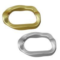 Messing-Armband-Ergebnisse, Messing, plattiert, keine, frei von Nickel, Blei & Kadmium, 28x19.50x5mm, Bohrung:ca. 1.5mm, 5PCs/Menge, verkauft von Menge