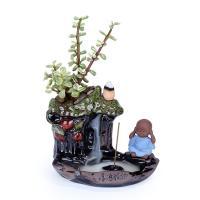 Porcelain Backflow Incense Burner, Porzellan, handgemacht, 145x105x110mm, verkauft von PC
