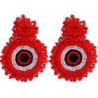 Seedbead Tropfen Ohrring, Bohemian-Stil & für Frau, keine, 70mm, verkauft von Paar