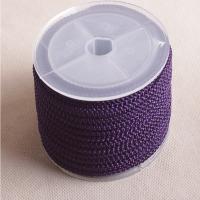 Nylon Polypropylen Nichtelastisches Garn, DIY, keine, frei von Nickel, Blei & Kadmium, 3mm, 10m/Spule, verkauft von Spule