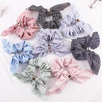 Draht Bun -Bogen, Polyester, verschiedene Stile für Wahl & für Frau, 90mm, verkauft von PC