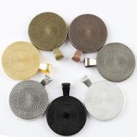 Zinklegierung Cabochon Einstellung, plattiert, DIY, keine, frei von Nickel, Blei & Kadmium, 25mm, 20PCs/Menge, verkauft von Menge