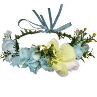 Brautkranz, Stoff, Blume, handgemacht, einstellbar & für Frau, keine, 180mm, verkauft von PC