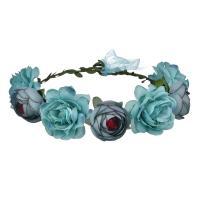 Brautkranz, Stoff, Blume, einstellbar & für Frau, keine, 180mm, verkauft von PC