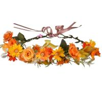 Brautkranz, Stoff, Blume, handgemacht, einstellbar & für Frau, 180mm, verkauft von PC