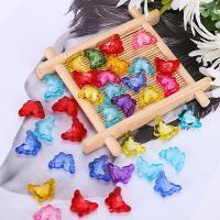 Perlen in Perlen Acrylperlen, Acryl, Schmetterling, plattiert, verschiedene Größen vorhanden, gemischte Farben, 500G/Tasche, verkauft von Tasche