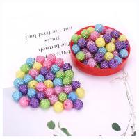 ABS-Kunststoff-Perlen Perle, plattiert, DIY & verschiedene Größen vorhanden, gemischte Farben, 500/Tasche, verkauft von Tasche