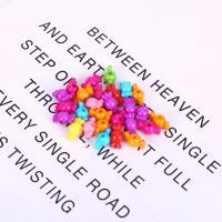 Acryl Schmuck Perlen, Bonbons, plattiert, DIY, gemischte Farben,  7*15mm, 500G/Tasche, verkauft von Tasche