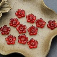 Handgewickelte Perlen, Lampwork, Blume, plattiert, DIY, keine, 13mm, 10PCs/Menge, verkauft von Menge