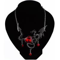 Kristall Zinklegierung Halskette, mit Kristall, plattiert, unisex, keine, frei von Nickel, Blei & Kadmium, 50+5cm, verkauft per ca. 19.68 ZollInch Strang