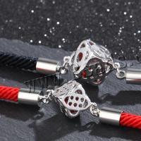 925er Sterling Silber Armband, Dick versilbert, einstellbar & verschiedene Stile für Wahl & für paar, Länge:220 Millimeter, verkauft von PC