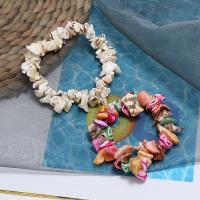 Muschel Schmuck Armband, mit elastischer Faden, Folk-Stil & für Frau, keine, 20mm, verkauft per ca. 7.5 ZollInch Strang