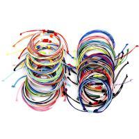 Gewachste Nylonschnur Armband, unisex & einstellbar, keine, Länge:ca. 5.91 ZollInch, 5SträngeStrang/Menge, verkauft von Menge