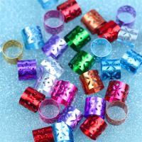 Aluminium Zylinder, Oxidation, hohl, keine, 12x10mm, 100PCs/Tasche, verkauft von Tasche