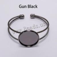 Messing-Armband-Ergebnisse, Messing, plattiert, DIY & verschiedene Größen vorhanden, keine, frei von Nickel, Blei & Kadmium, verkauft von PC