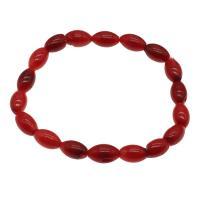 Korallen Armband, Koralle, für Frau, rot, 11*7mm, verkauft per ca. 7.5 ZollInch Strang