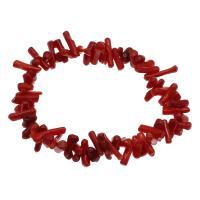 Korallen Armband, Koralle, für Frau, rot, 7*4mm-16*3mm, verkauft per ca. 7.5 ZollInch Strang