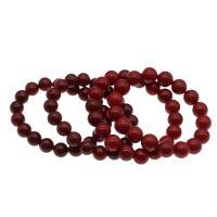 Korallen Armband, Koralle, für Frau, rot, 10.5-11.5mm, verkauft per ca. 7.5 ZollInch Strang
