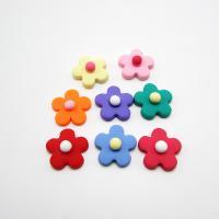 Harz Haar elastischen Ergebnisse, Blume, DIY, keine, 25mm, 50PCs/Tasche, verkauft von Tasche