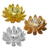 Messing Perlenkappe, plattiert, keine, frei von Nickel, Blei & Kadmium, 30x13mm, Bohrung:ca. 1mm, 50PCs/Menge, verkauft von Menge