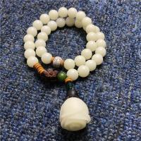 Bodhi Wurzel Armband, mit Grüne Bodhi & Weiße Bodhi & Xingyue Bodhi, handgemacht, verschiedene Stile für Wahl & für Frau, frei von Nickel, Blei & Kadmium, verkauft per ca. 7.5 ZollInch Strang