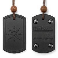 Lava Halskette, plattiert, unisex, schwarz, Länge:14.57 ZollInch, 5SträngeStrang/Menge, verkauft von Menge