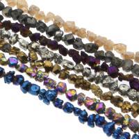 Natürliche Eis Quarz Achat Perlen, Eisquarz Achat, keine, 4-5mm, Bohrung:ca. 1mm, verkauft per ca. 14.9 ZollInch Strang