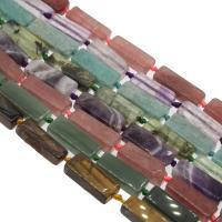 Edelstein Schmuckperlen, verschiedenen Materialien für die Wahl, 30x10x13mm, Bohrung:ca. 1mm, verkauft per ca. 14.9 ZollInch Strang