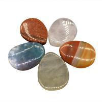 Edelstein Schmuckperlen, verschiedenen Materialien für die Wahl, 18*13mm, Bohrung:ca. 1mm, ca. 24PCs/Strang, verkauft von Strang
