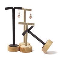 Holz Ohrringständer, mit Mikrofaser PU, keine, 50*108mm,50*168mm, verkauft von PC