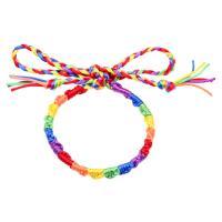 Nylonschnur Armbänder, unisex & einstellbar, farbenfroh, verkauft per ca. 7.5 ZollInch Strang