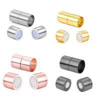 Messing Magnetverschluss, plattiert, verschiedene Größen vorhanden, keine, frei von Nickel, Blei & Kadmium, 10PCs/Tasche, verkauft von Tasche