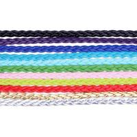 Baumwollsamt Schnur, handgefertigt, keine, 5mm, 2Taschen/Menge, 10m/Tasche, verkauft von Menge