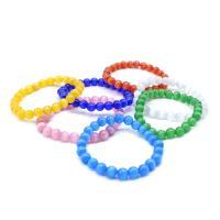 Cats Eye Armbänder, Katzenauge, rund, unisex & verschiedene Größen vorhanden, keine, verkauft per ca. 7.5 ZollInch Strang