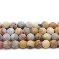 Natürliche verrückte Achat Perlen, Verrückter Achat, rund, DIY & verschiedene Größen vorhanden, verkauft per ca. 14.9 ZollInch Strang
