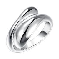 925 Sterling Silber Schmuck-Sets, Fingerring & Armband & Ohrring & Halskette, 925er Sterling Silber, verschiedene Stile für Wahl & für Frau, 21+50cm, verkauft von setzen